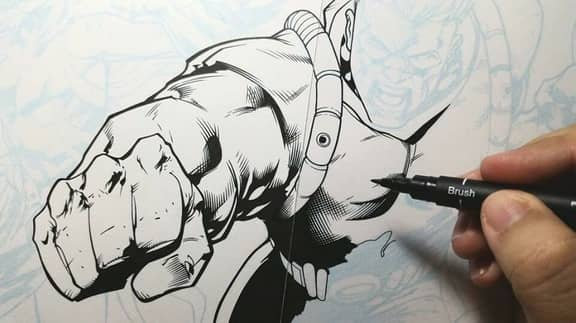 (WildC.A.T.s inking commission by Rafael Gumboc over Don Mark Noceda s pencils)
